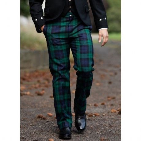 Military Cut  tailored trousers for Scottish Army units and other social use.